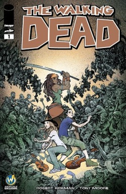The Walking Dead #1 Cover By Moritat