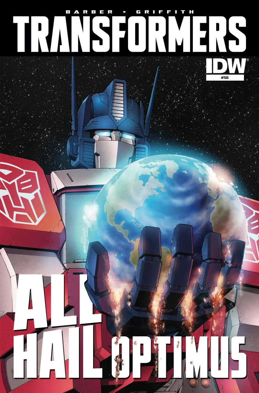 Transformers All Hail Optimus