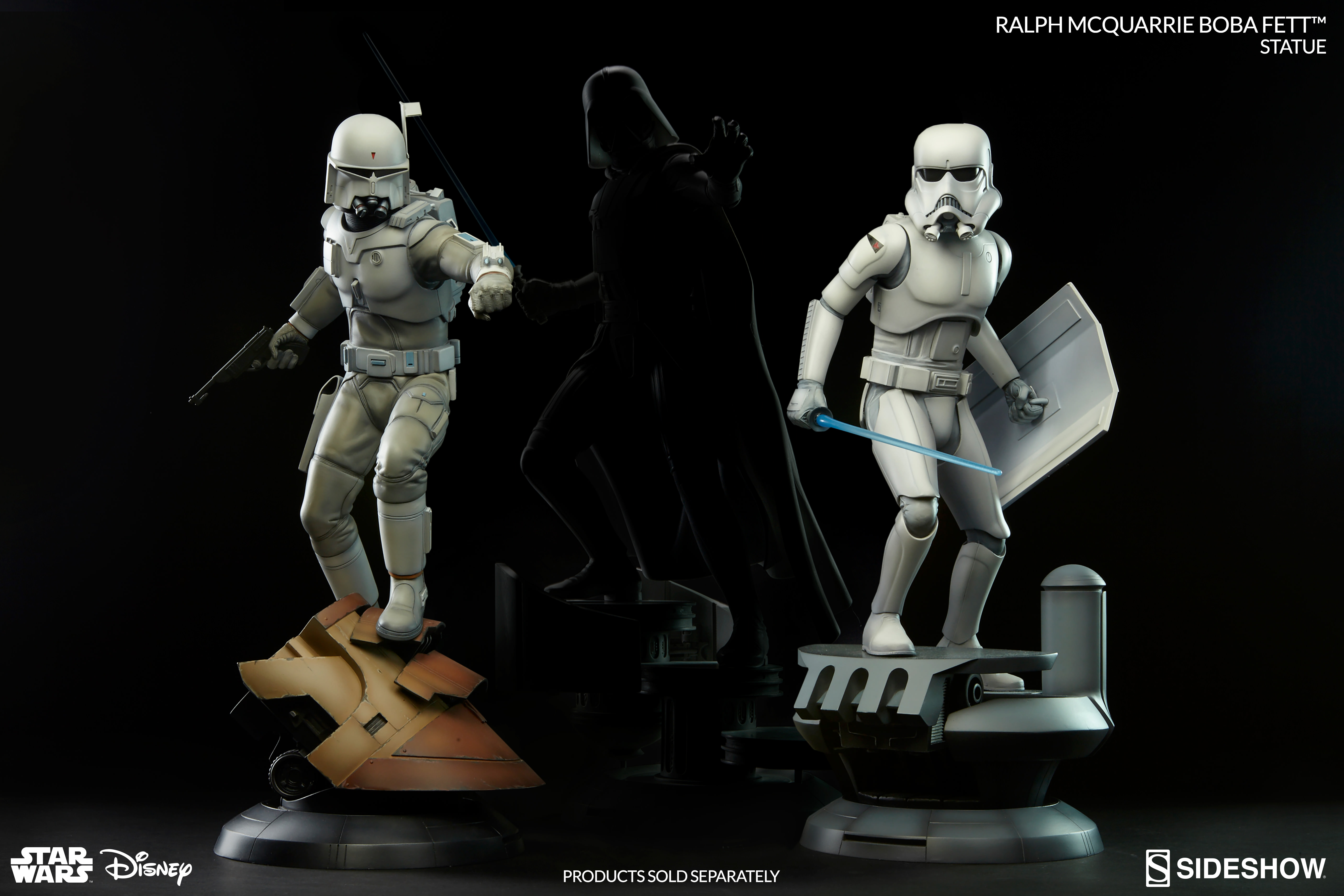 Sideshow Debuts The Ralph Mcquarrie Boba Fett Statue Graphic Policy