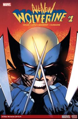 All New Wolverine cover 2