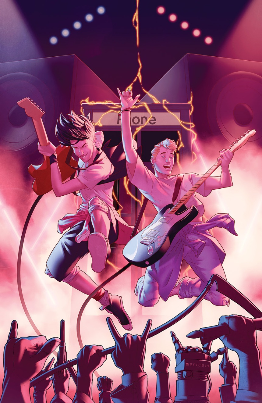 Bill & Ted Go to Hell #1 (of 4) Main cover by Jamal Campbell