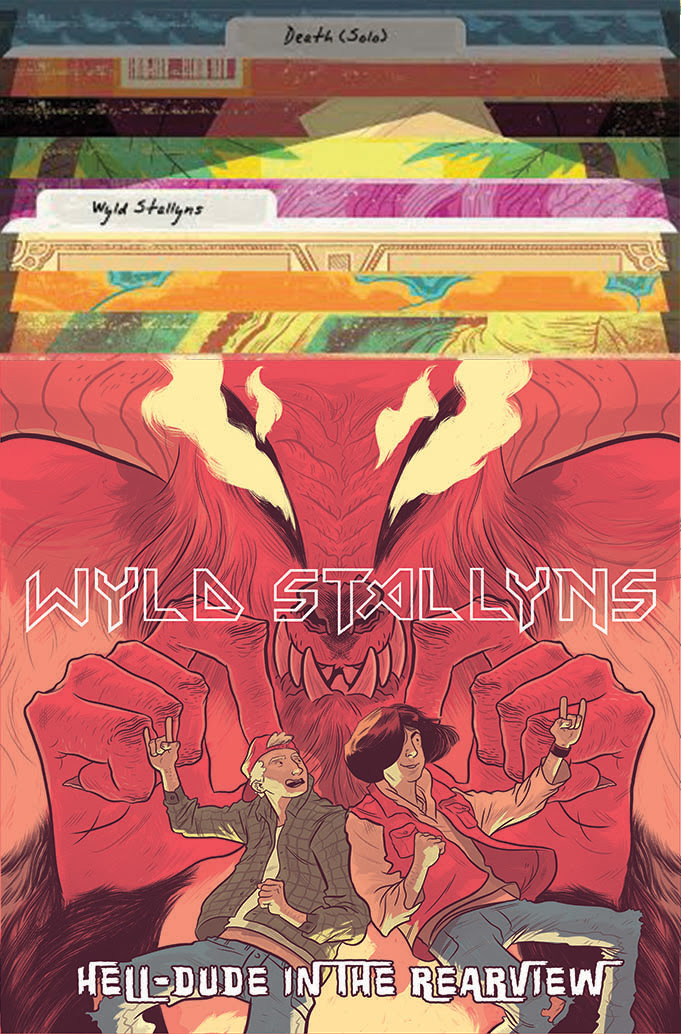 Bill & Ted Go to Hell #1 (of 4) Subscription Album Cover by Logan Faerber
