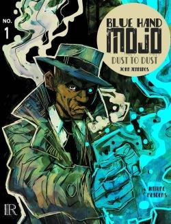 blue hand mojo #1 cover