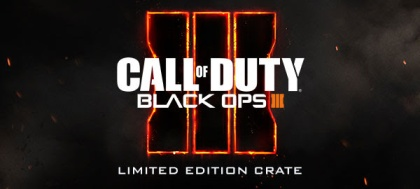 CALL OF DUTY BLACK OPS III LIMITED EDITION CRATE