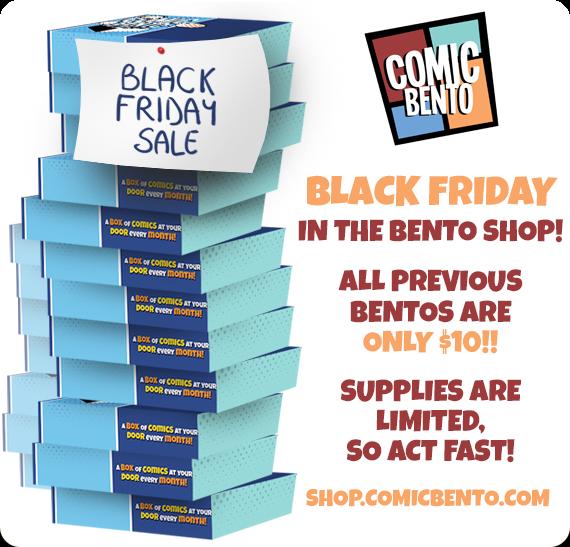 Comic Bento Black Friday