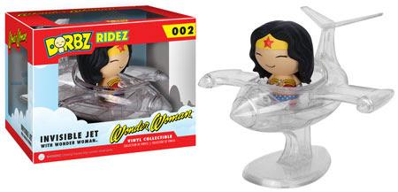 Dorbz Ridez Invisible Jet with Wonder Woman