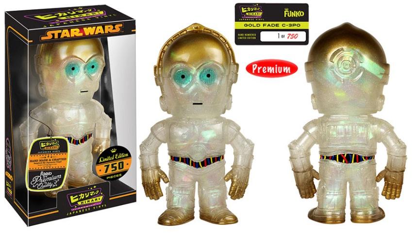 Gold Fade C-3PO Premium Hikari Sofubi Figure