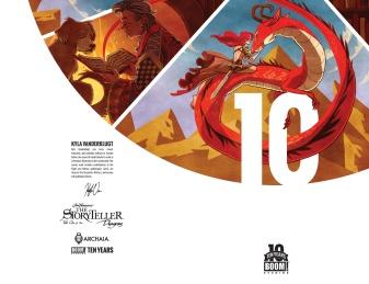 Jim Henson's The Storyteller Dragons #1 10 Years Cover by Kyla Vanderklugt