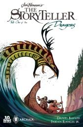 Jim Henson's The Storyteller Dragons #1 Cover by Daniel Bayliss