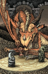 Jim Henson's The Storyteller Dragons #1 Incentive Cover by David Petersen
