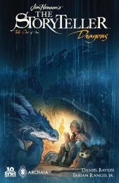 Jim Henson's The Storyteller Dragons #1 Jackpot Cover by Cory Godbey