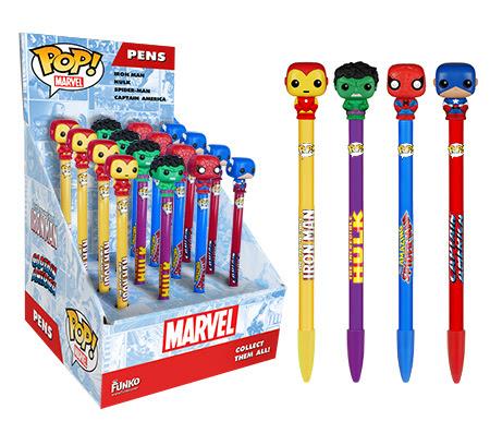 Marvel Pen Toppers