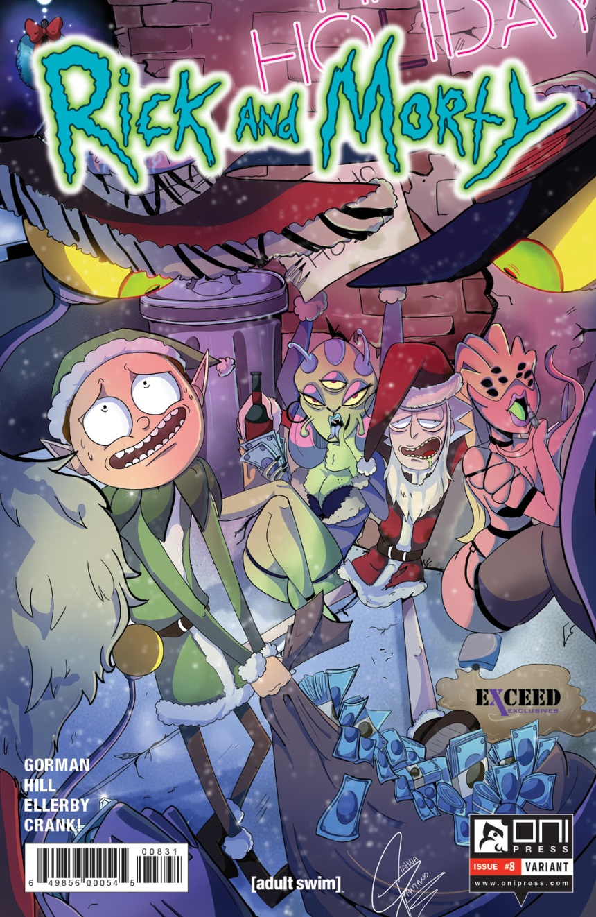 Rick and Morty #8 Exceed Variant