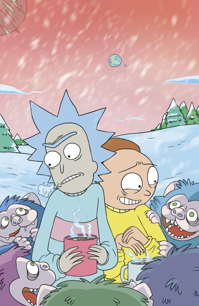 RICKMORTY #8 MARKETING_partial preview_page8_image1
