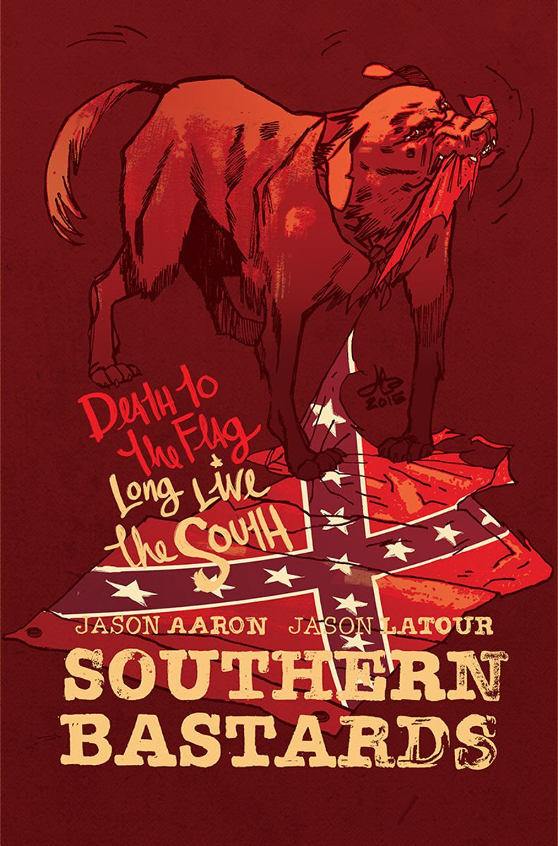 SOUTHERN BASTARDS #10 charity variant cover