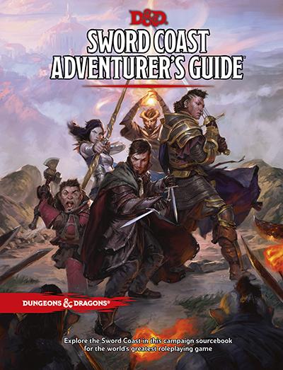 Sword Coast Adventure Guide - Cover Image