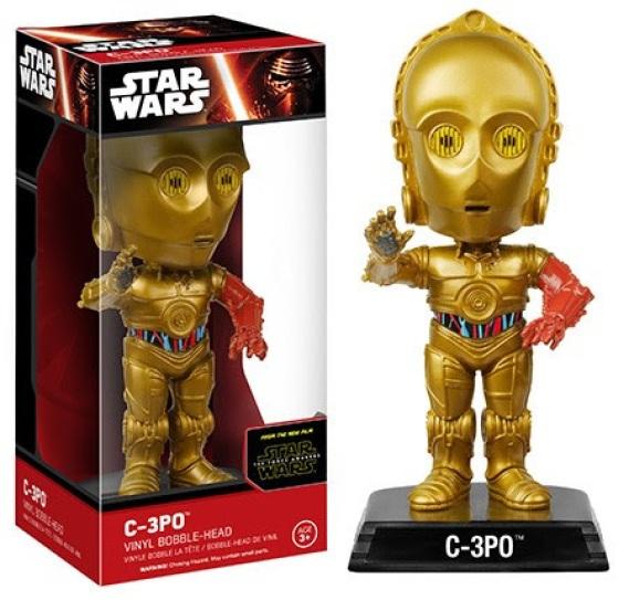 Wacky Wobblers Star Wars Episode 7 The Force Awakens C-3PO