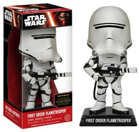Wacky Wobblers Star Wars Episode 7 The Force Awakens First Order Flamtrooper