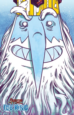 Adventure Time Ice King #1 Incentive Cover by Wyeth Yates