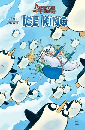 Adventure Time Ice King #1 Main Cover by Shelli Paroline & Braden Lamb