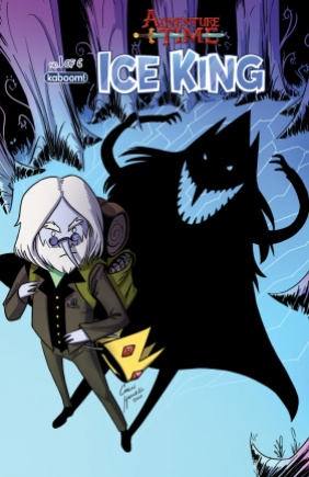 Adventure Time Ice King #1 Subscription Cover by Corin Howell