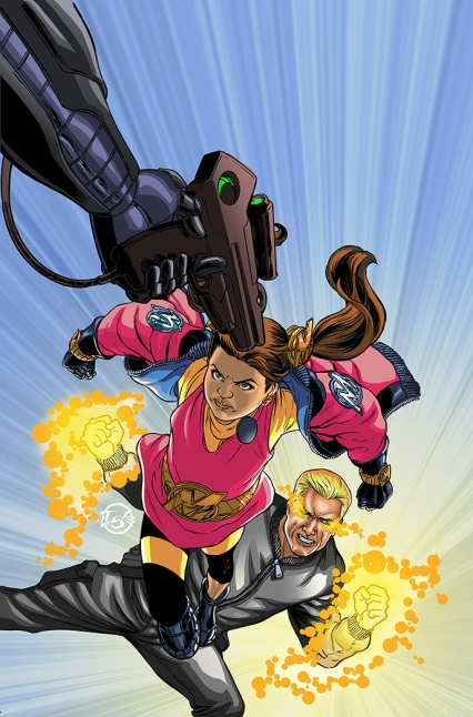 ACTIONVERSE #1: MOLLY DANGER Jamal Igle (Art and Color)