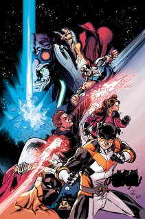 ACTIONVERSE #1: STRAY Sean Izzakes (Art) Matt Lopes (Color)