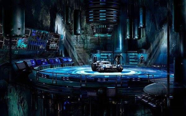 Batman v Superman Batcave 1