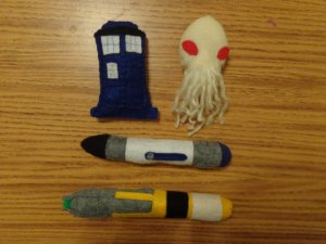 Cat Toys Dr Who