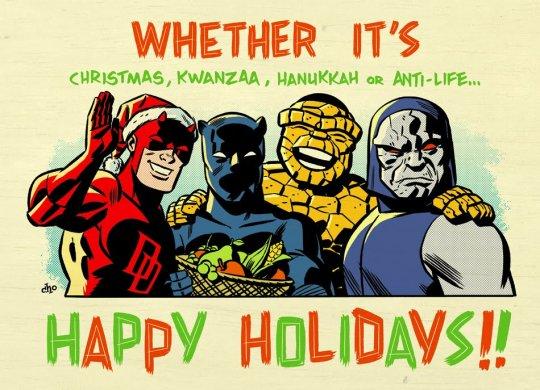 Comics Happy Holidays