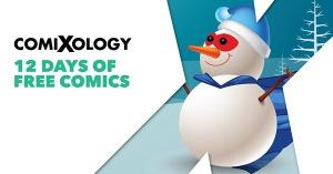 comixology 12 days of free comics