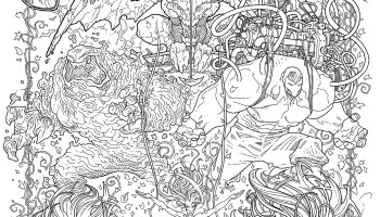 Get Some Early Practice On DC Comics Adult Coloring Book Variant Covers