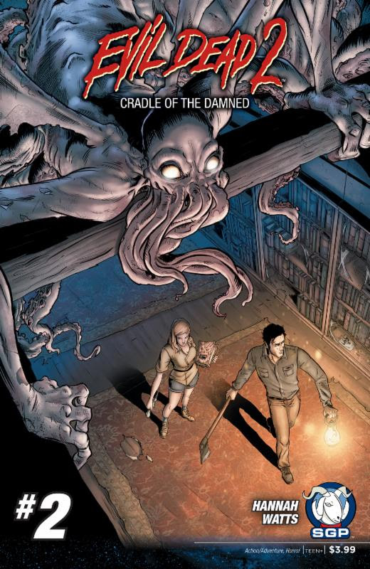Evil Dead 2 Cradle of the Damned #2 2