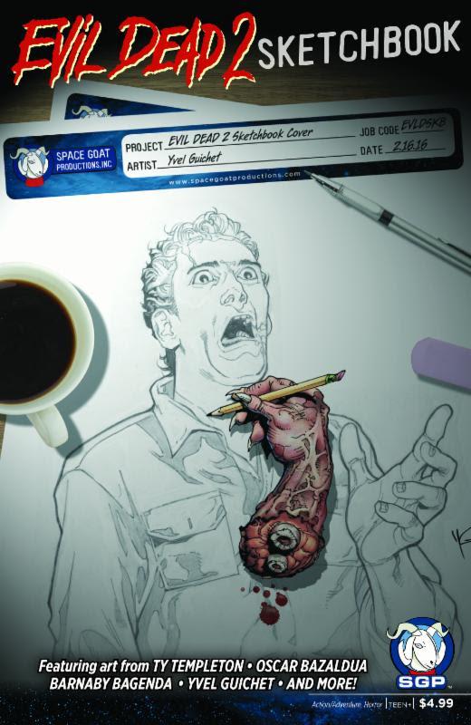 Evil Dead 2 Sketchbook