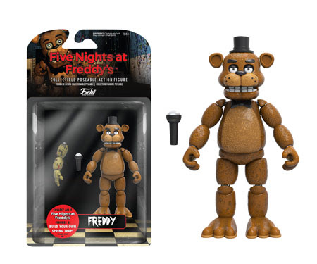 Five Nights at Freddy's 5 Action Figures 1