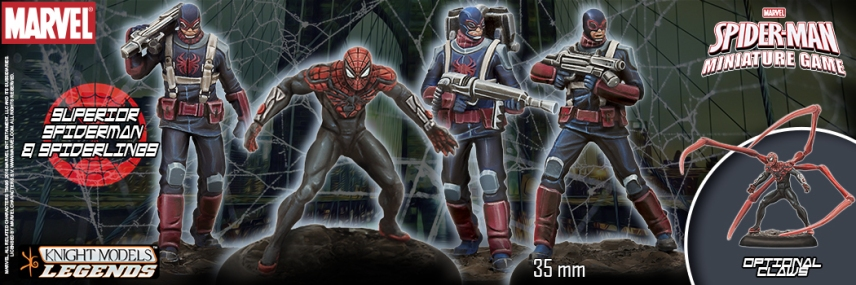 Knight Models Spider-Man Miniature Game 1