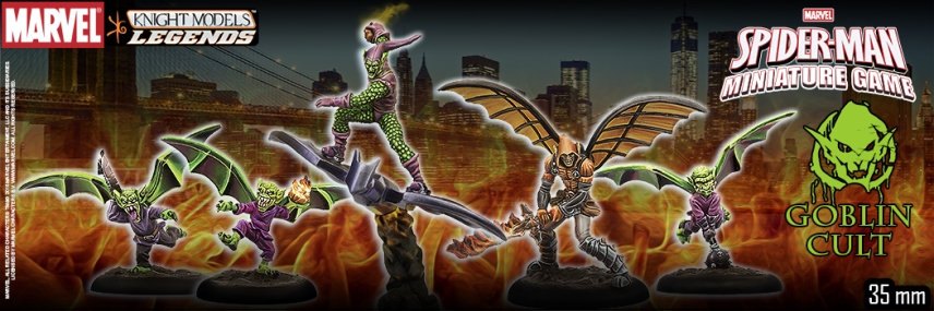 Knight Models Spider-Man Miniature Game 2