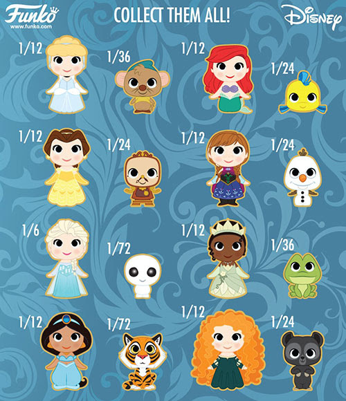 Mystery Mini Disney Princesses 3