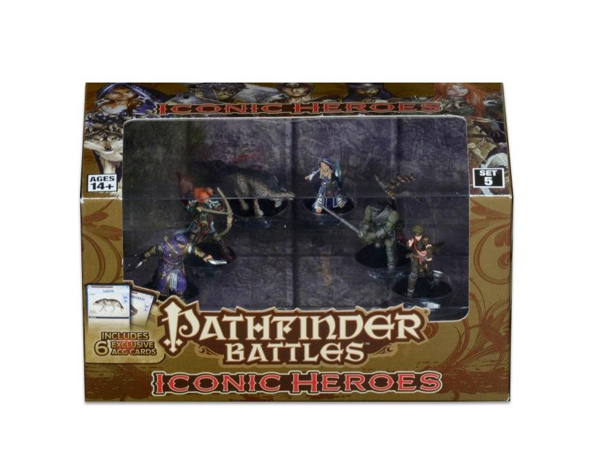 Pathfinder Battles Iconic Heroes Set 5