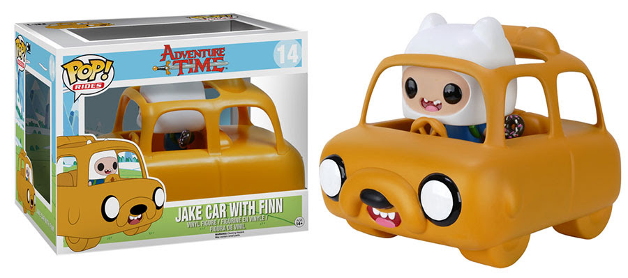 Pop! Rides: Adventure Time – Jake Car with Finn in February