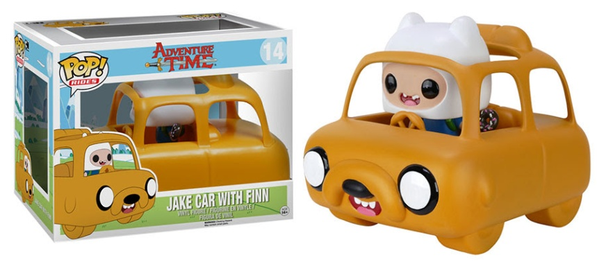 Pop! Rides Adventure Time - Jake Car with Finn