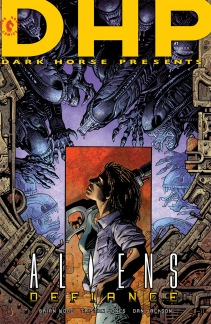 ALIENS DEFIANCE #1 (MARK A. NELSON VARIANT COVER)