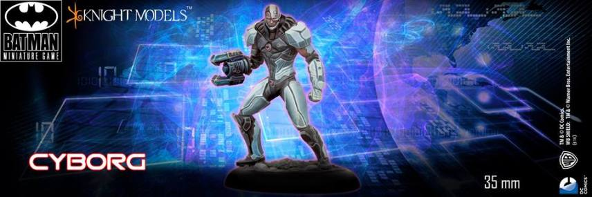 Batman Miniature Game Cyborg