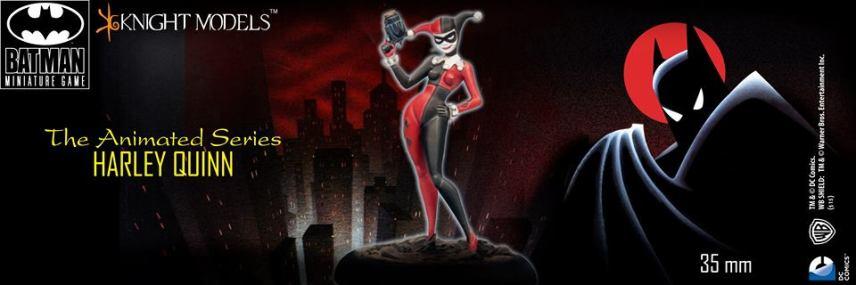 Batman Miniature Game Harley Quinn Batman Animated Series