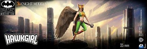 Batman Miniature Game Hawkgirl