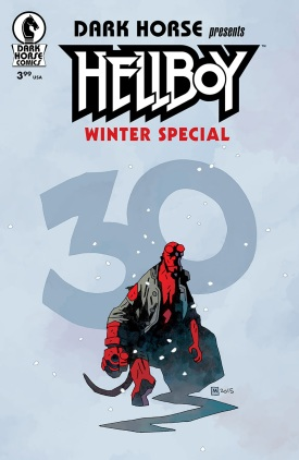 HELLBOY WINTER SPECIAL ONE-SHOT (MIKE MIGNOLA VARIANT COVER) On sale now - Diamond #NOV150011