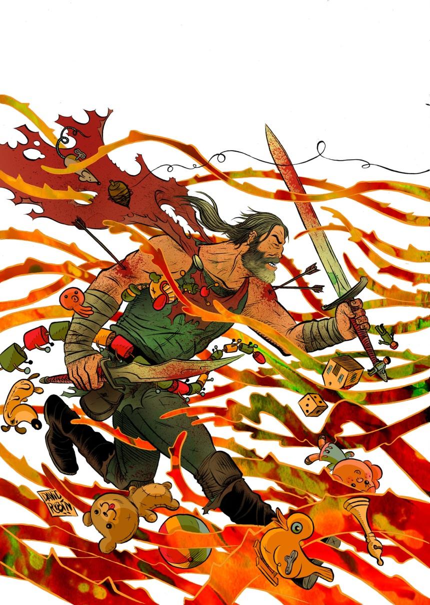 Klaus #2 2nd Printing Cover by David Rubín