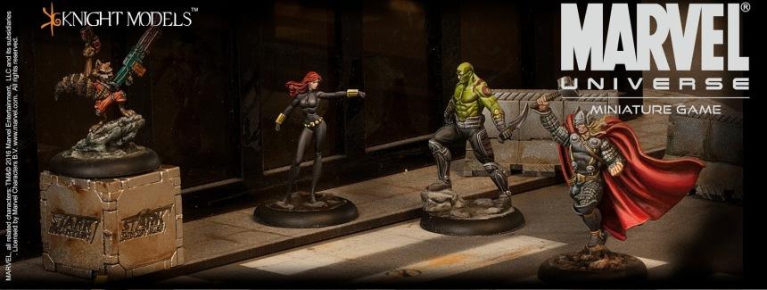 Marvel Universe Miniature Game 2