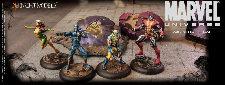 Marvel Universe Miniature Game X-Men