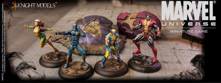 Marvel Universe Miniature Game X-Men